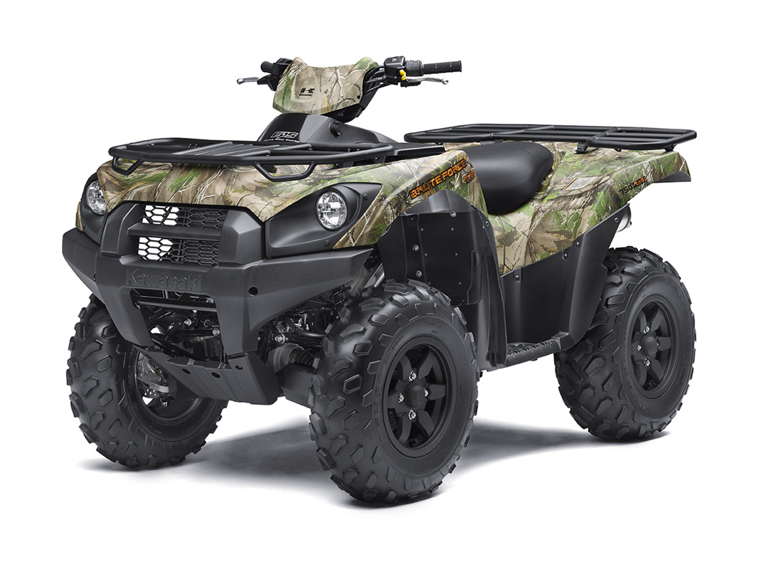 2017 Kawasaki Brute Force 750 4x4i EPS Camo in Dimondale, Michigan