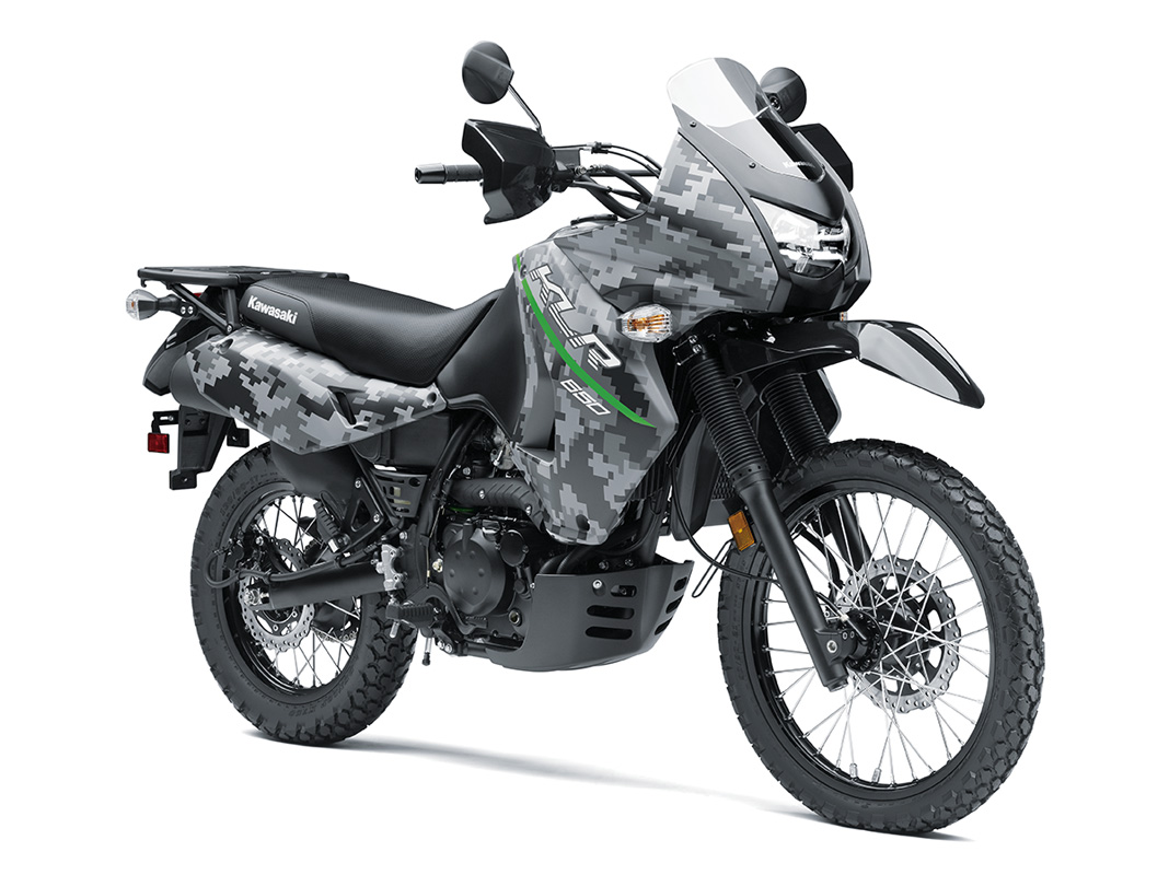 2017 Kawasaki KLR650 in Clearwater, Florida