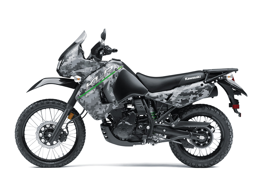 2017 Kawasaki KLR650 in Traverse City, Michigan