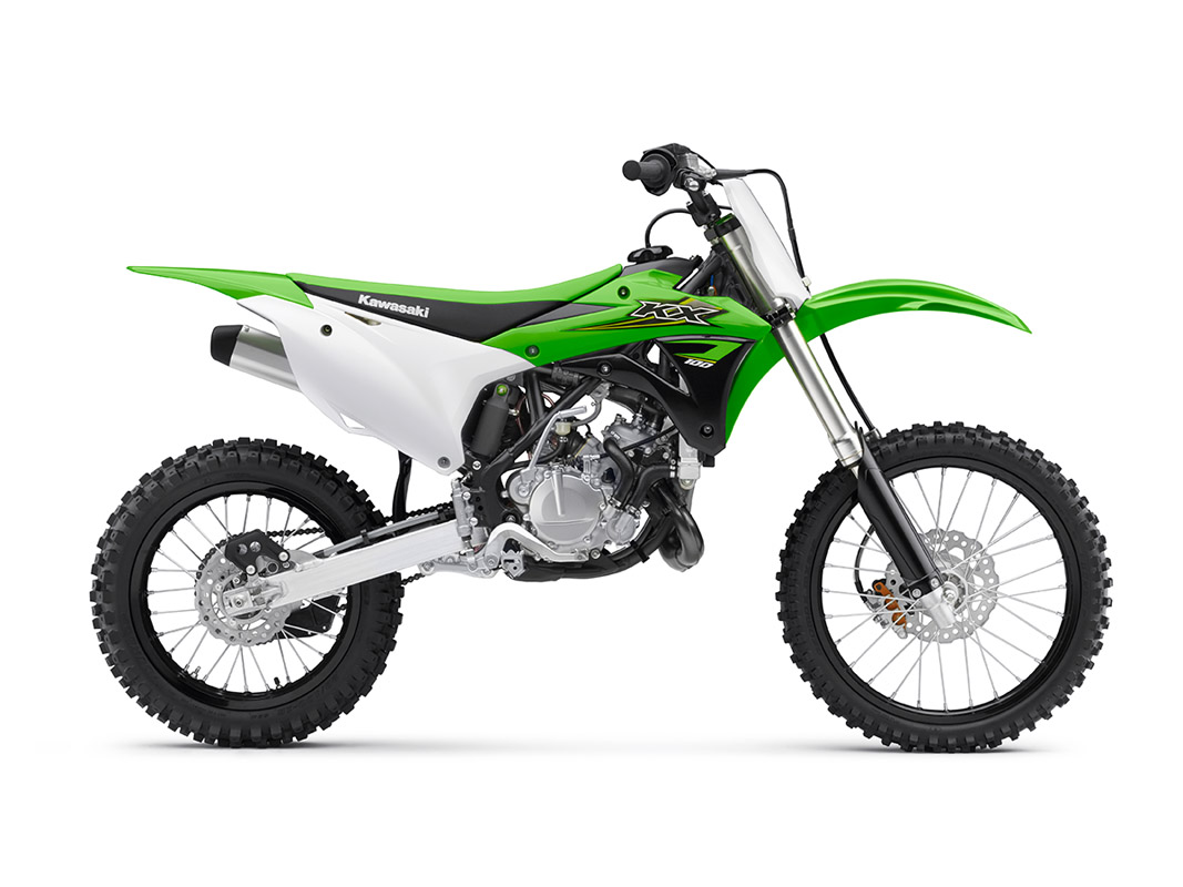 2017 Kawasaki KX100 in Mount Vernon, Ohio