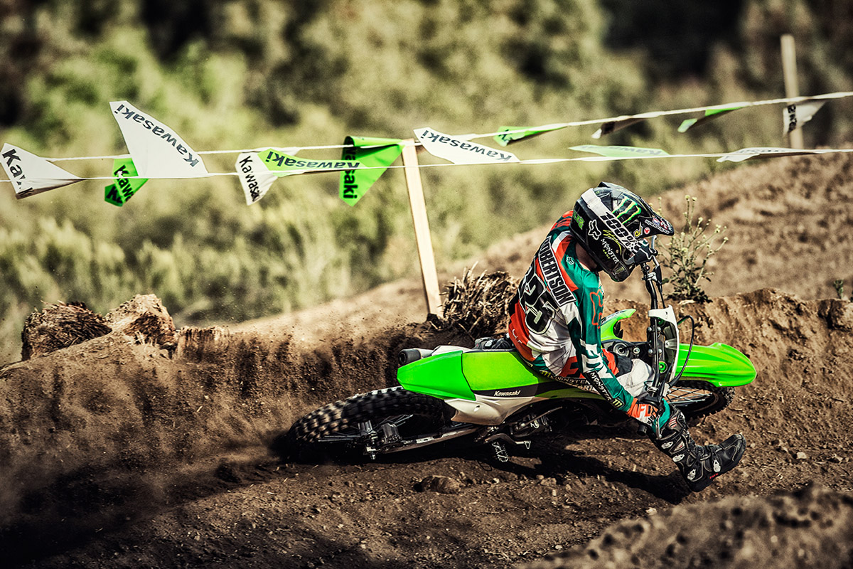 2017 Kawasaki KX100 in Redding, California