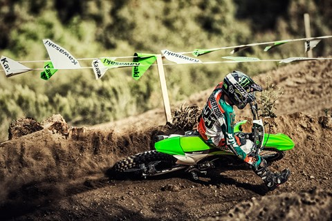 2017 Kawasaki KX100 in Johnstown, Pennsylvania
