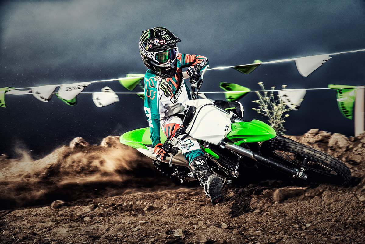 2017 Kawasaki KX100 in Hickory, North Carolina
