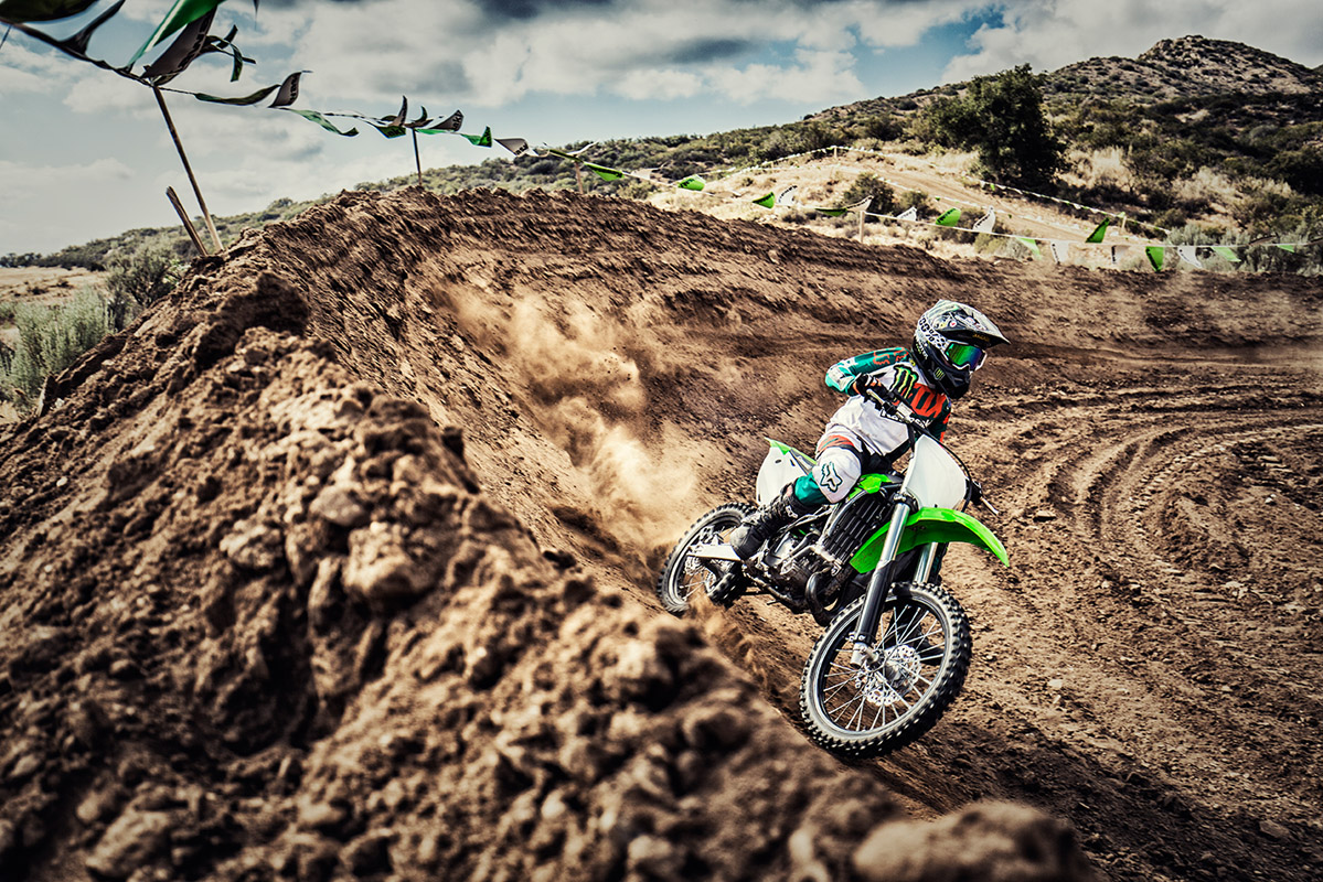 2017 Kawasaki KX100 in Elizabethtown, Kentucky
