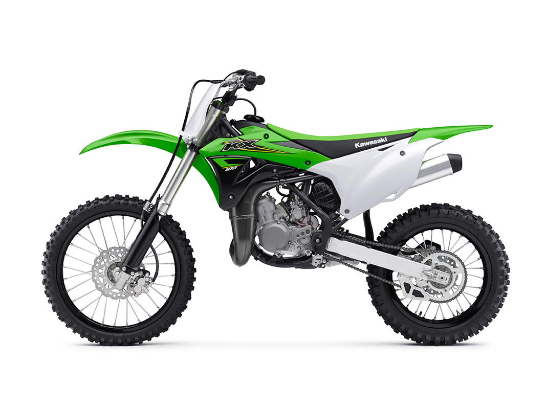2017 Kawasaki KX100 in Rock Falls, Illinois