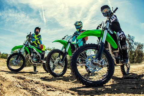 2017 Kawasaki KX250F in Asheville, North Carolina