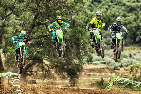 2017 Kawasaki KX250F in Redding, California