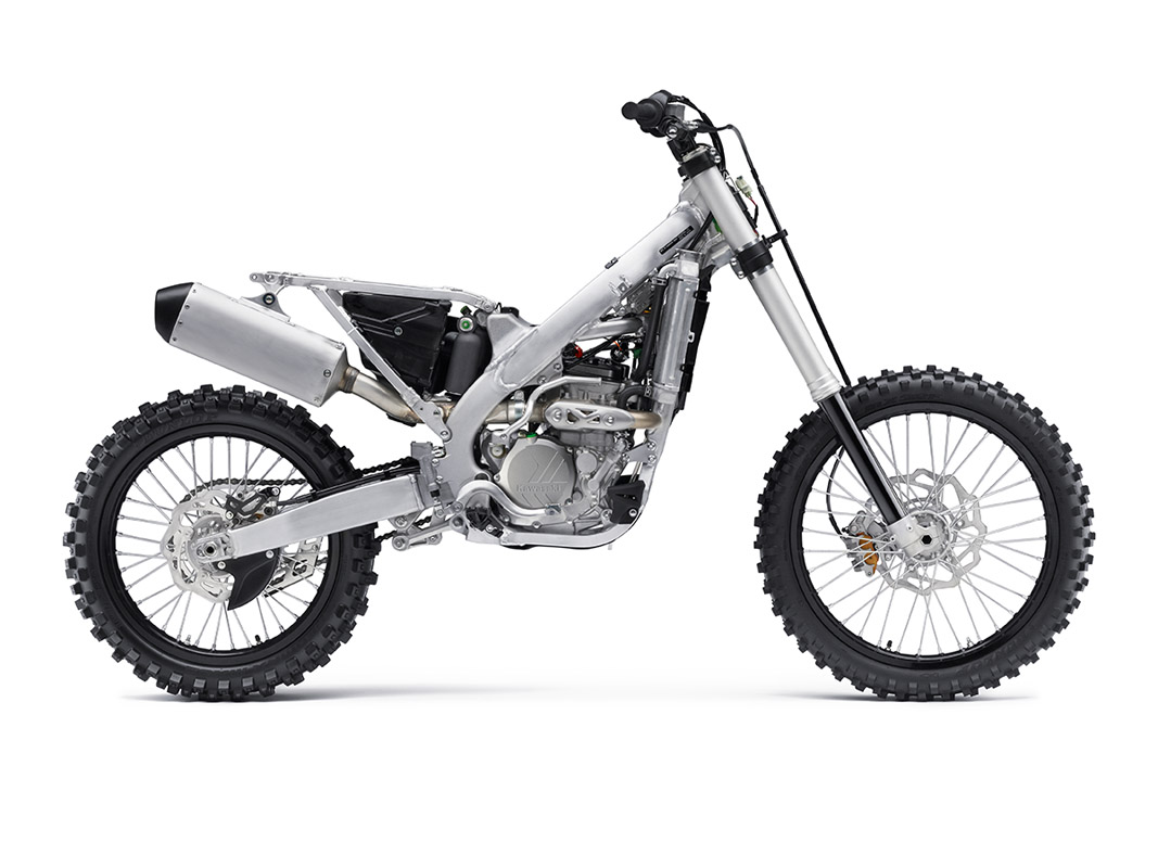 2017 Kawasaki KX250F in Fairfield, Illinois