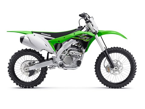 2017 Kawasaki KX250F in Marietta, Ohio