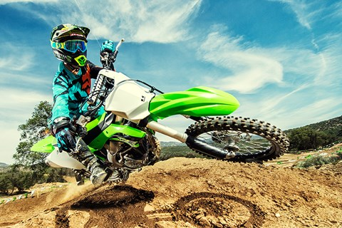 2017 Kawasaki KX250F in Littleton, New Hampshire