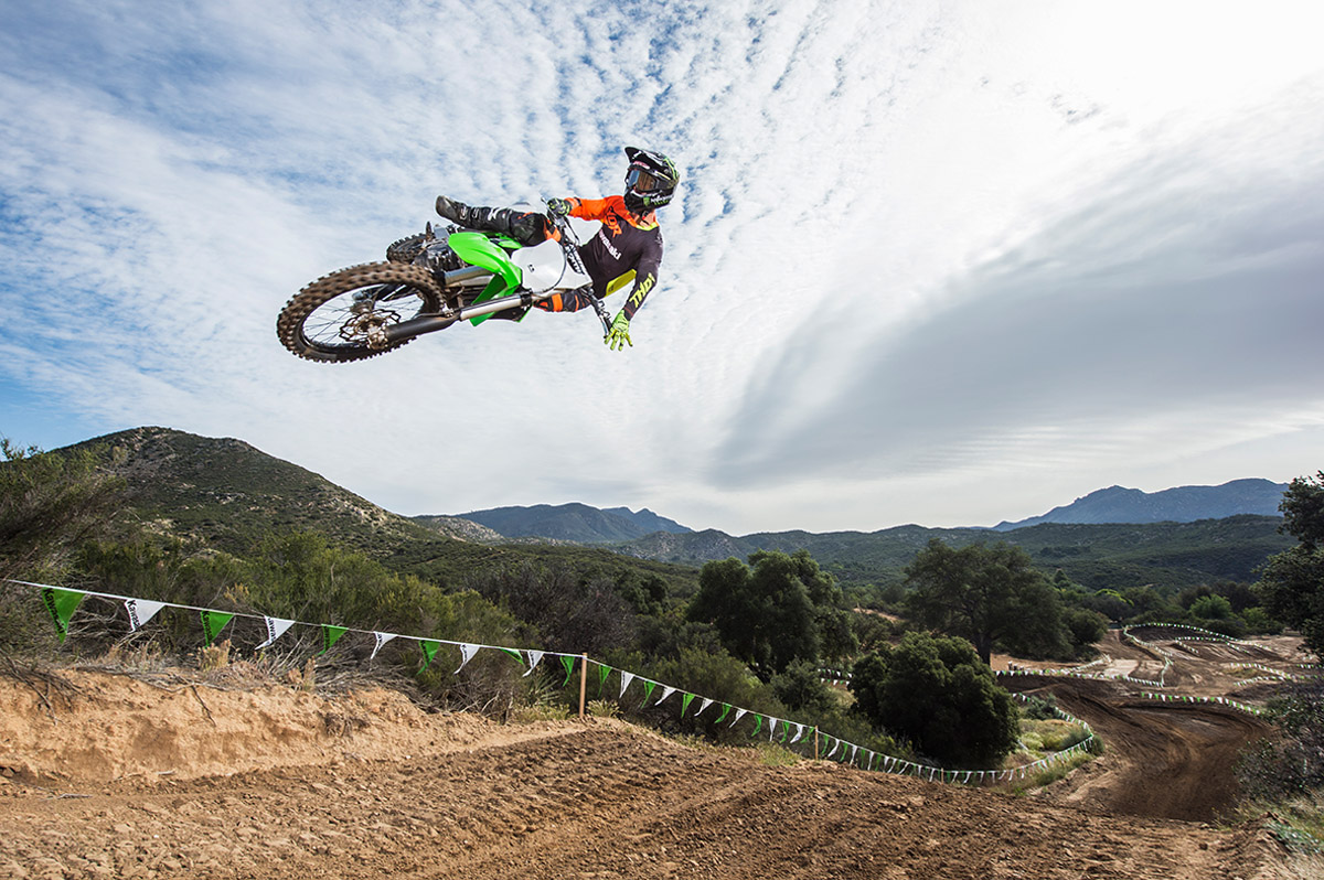 2017 Kawasaki KX250F in Corona, California
