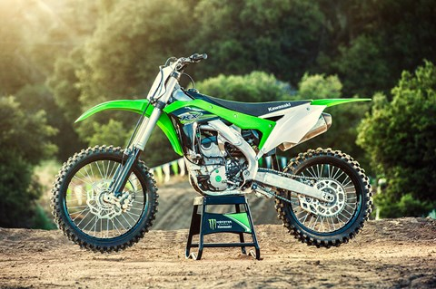 2017 Kawasaki KX250F in Johnson City, Tennessee