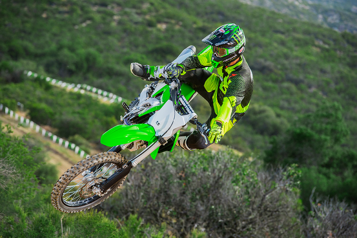 2017 Kawasaki KX450F in Fontana, California