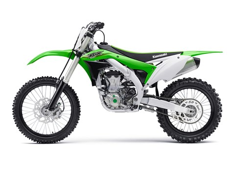 2017 Kawasaki KX450F in Mount Pleasant, Michigan