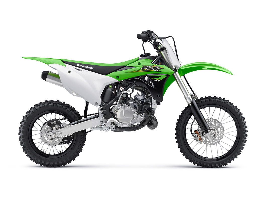2017 Kawasaki KX85 in Rock Falls, Illinois