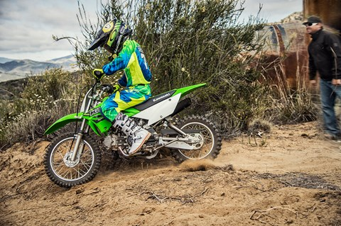 2017 Kawasaki KLX110 in Sacramento, California