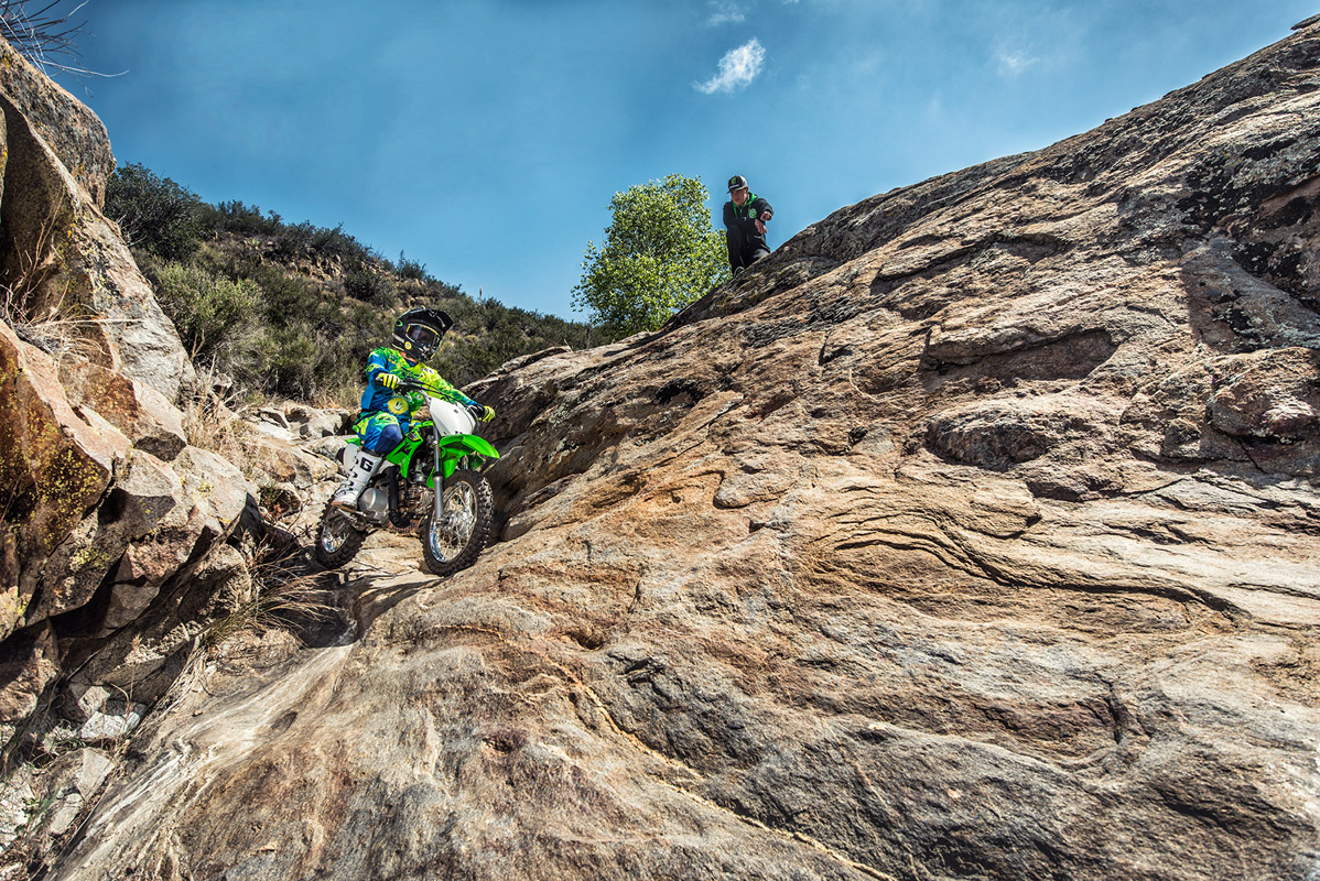 2017 Kawasaki KLX110 in De Forest, Wisconsin