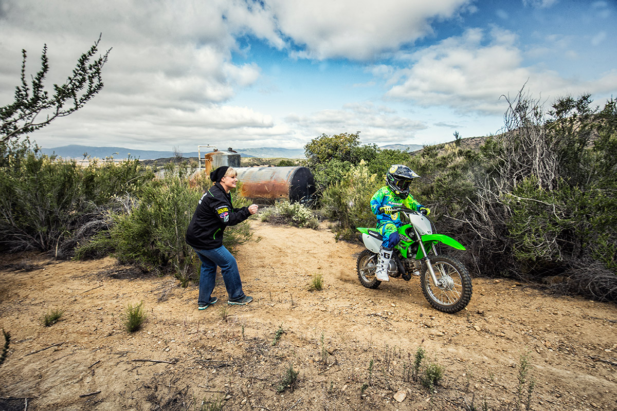 2017 Kawasaki KLX110 in Prescott Valley, Arizona