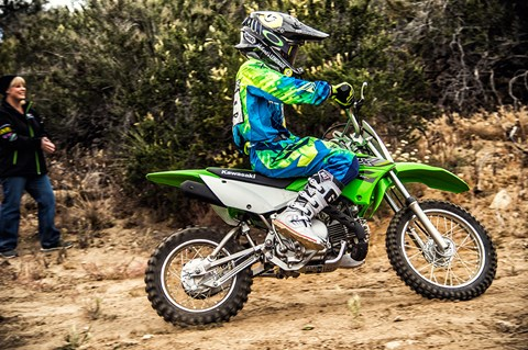 2017 Kawasaki KLX110 in Corona, California