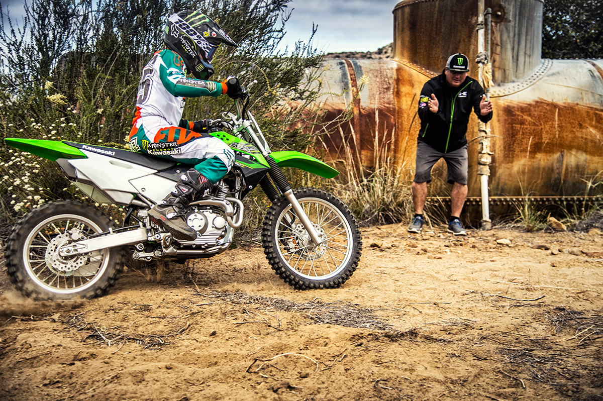 2017 Kawasaki KLX140 in Orange, California