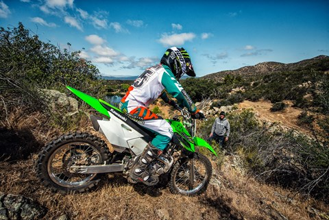 2017 Kawasaki KLX140 in Hollister, California