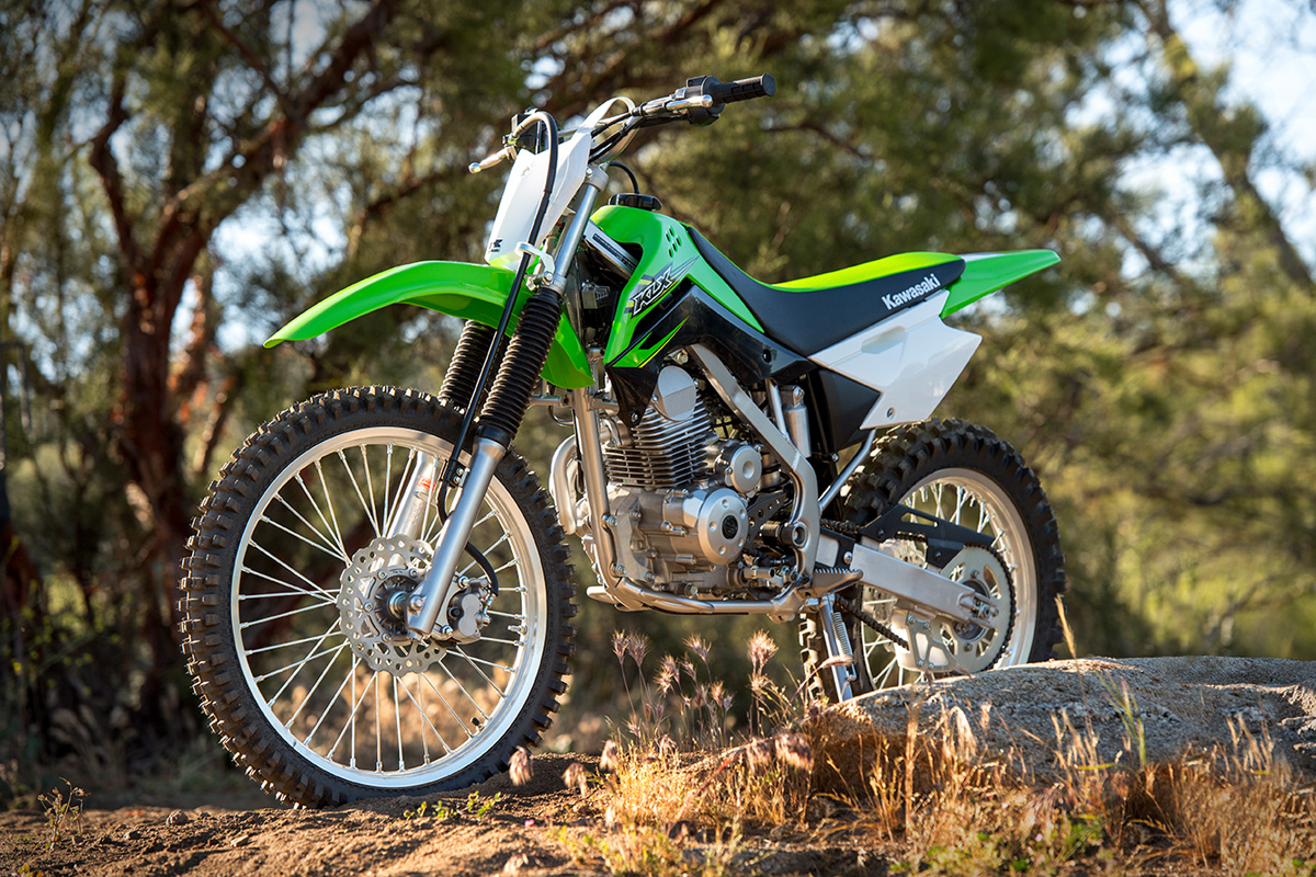 2017 Kawasaki KLX140G in Colorado Springs, Colorado