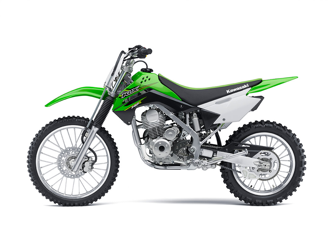 2017 Kawasaki KLX140L in Mount Pleasant, Michigan