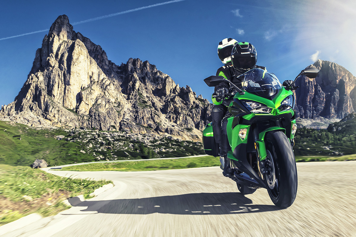 2017 Kawasaki NINJA 1000 ABS in Nevada, Iowa