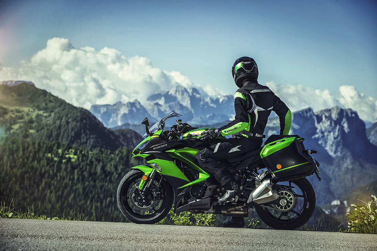 2017 Kawasaki NINJA 1000 ABS in Canton, Ohio