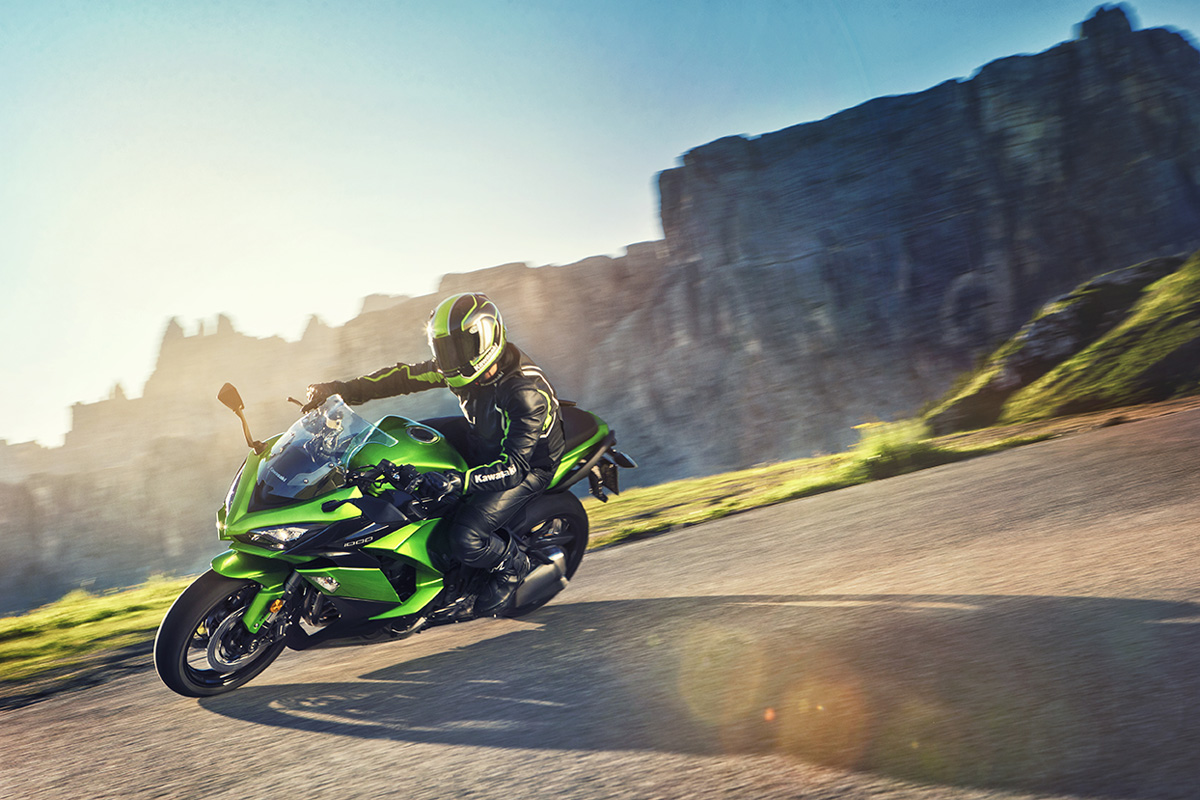 2017 Kawasaki NINJA 1000 ABS in Highland, Illinois