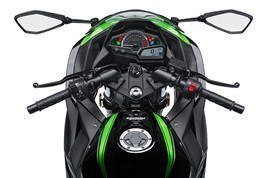 2017 Kawasaki NINJA 300 ABS KRT EDITION in Highland, Illinois