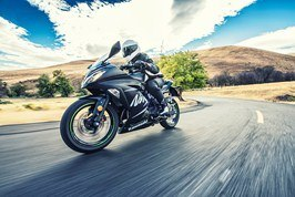 2017 Kawasaki Ninja 300 ABS Winter Test Edition in Freeport, Illinois