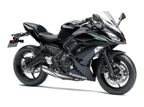 2017 Kawasaki Ninja 650 ABS in Traverse City, Michigan