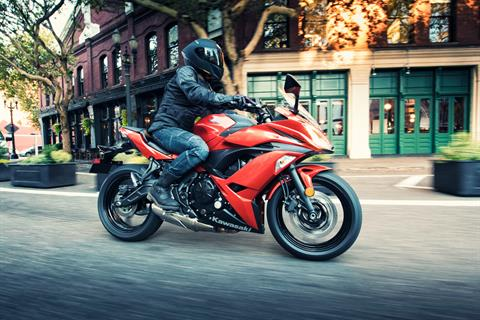 2017 Kawasaki Ninja 650 ABS in Mount Pleasant, Michigan