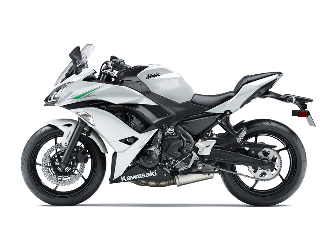 2017 Kawasaki Ninja 650 ABS in Northampton, Massachusetts