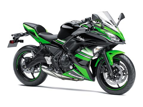 2017 Kawasaki Ninja 650 ABS KRT Edition in Elyria, Ohio