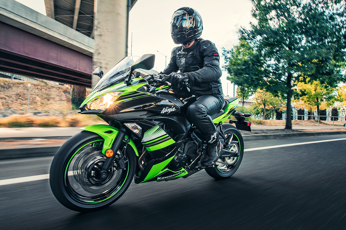 2017 Kawasaki Ninja 650 ABS KRT Edition in Freeport, Illinois