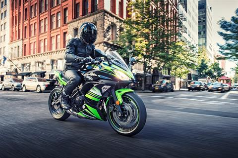 2017 Kawasaki Ninja 650 ABS KRT Edition in Canton, Ohio