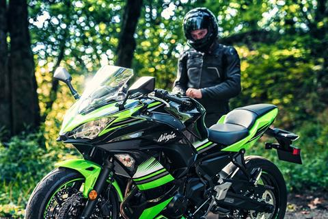 2017 Kawasaki Ninja 650 ABS KRT Edition in Unionville, Virginia