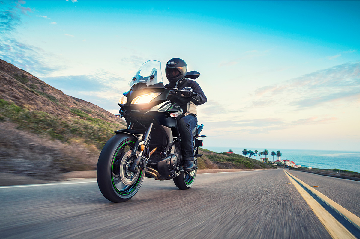 2017 Kawasaki Versys 650 ABS in Ukiah, California
