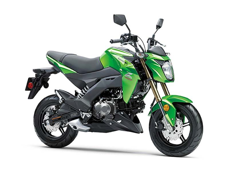 2017 Kawasaki Z125 Pro in Yuba City, California