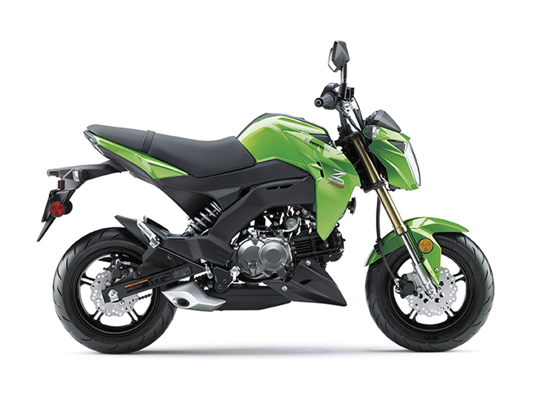 2017 Kawasaki Z125 Pro in Littleton, New Hampshire