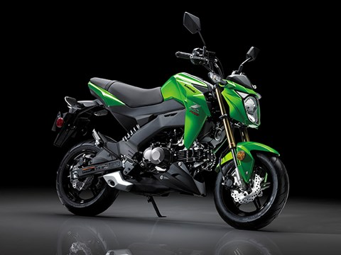 2017 Kawasaki Z125 Pro in Louisville, Tennessee