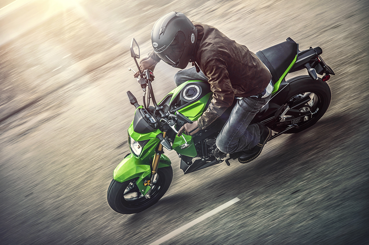 2017 Kawasaki Z125 Pro in Nevada, Iowa