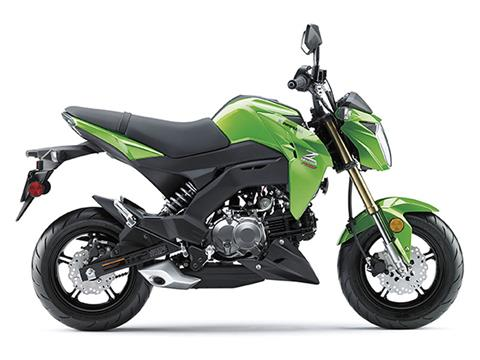 2017 Kawasaki Z125 Pro In Orange California
