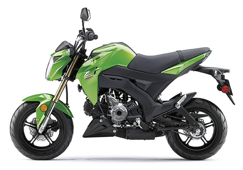 2017 Kawasaki Z125 Pro in Corona, California