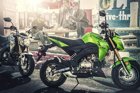 2017 Kawasaki Z125 Pro in Norfolk, Virginia