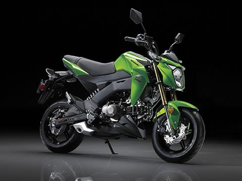 2017 Kawasaki Z125 Pro in Ashland, Kentucky