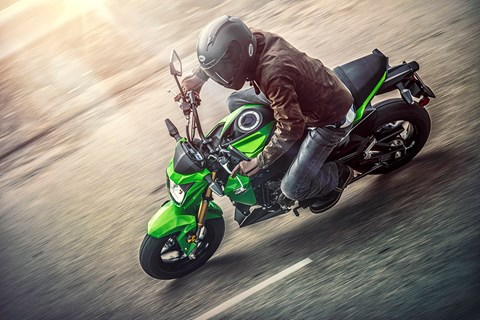 2017 Kawasaki Z125 Pro in Highland, Illinois