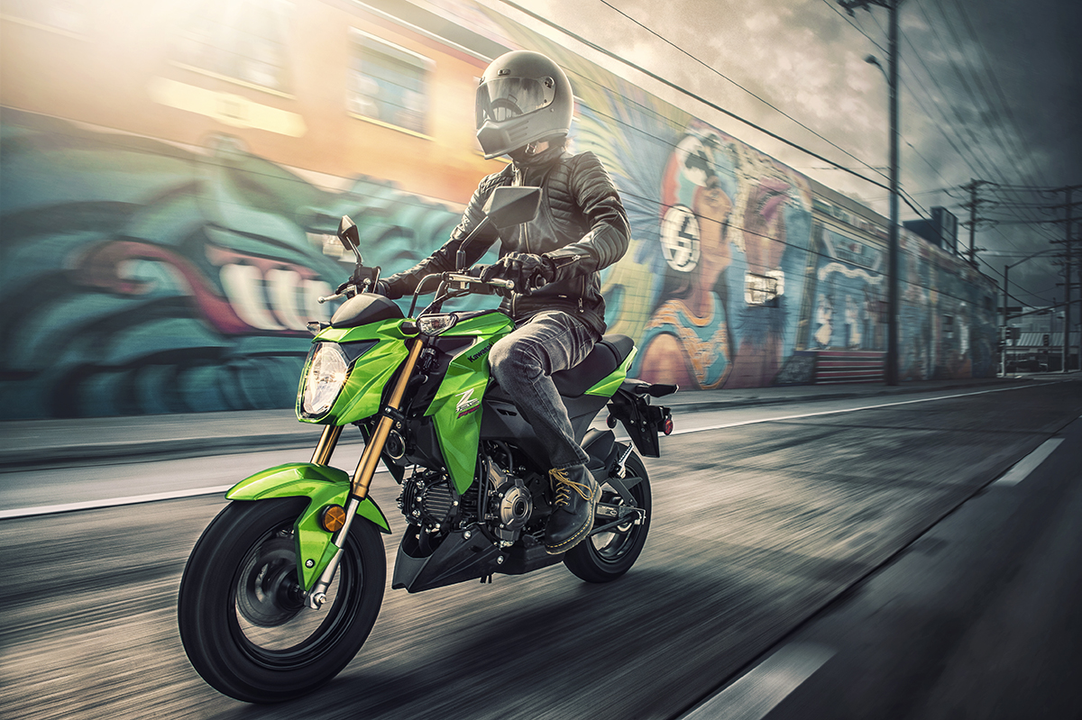 2017 Kawasaki Z125 Pro in Fort Pierce, Florida